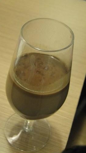 Bebida quente de Chocolate café e curry 1
