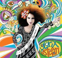 Glória na capa de seu álbum mais recente, de 2011