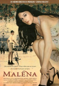 No cartaz de Malena
