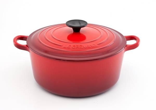 Panela-redonda-vermelho