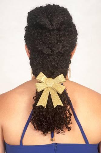 Penteado trança Passo 4 - Beleza Natural