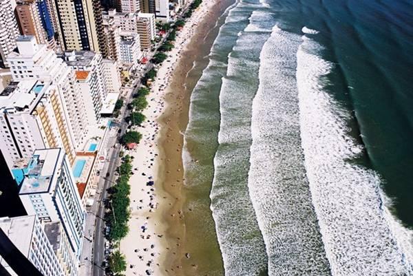 praia central - vista aerea - Balneario