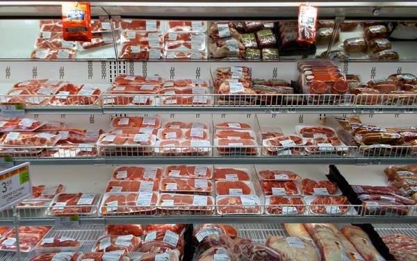 carne supermercado  aimee low
