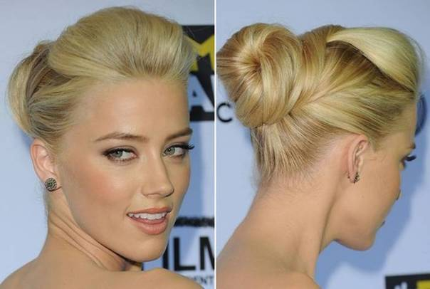bun-hairstyles-for-medium-hair