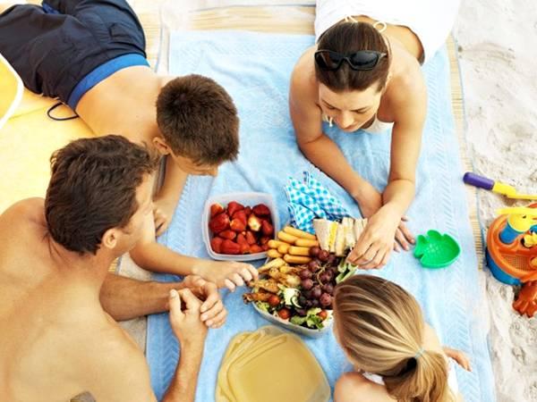 praia comida