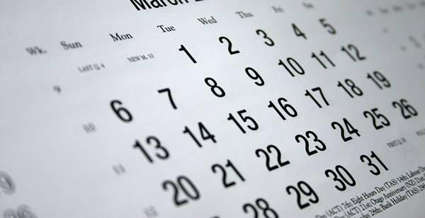 calendario - dave