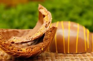 Cau Chocolates - Ovo Recheado de Pão de Mel 165g