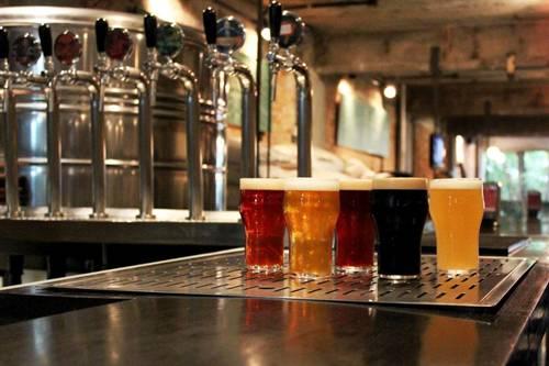 Cervejaria Nacional - chopes da casa - crédito Antonio Rodrigues