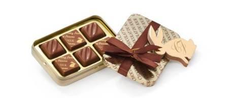 Chocolat du Jour - Lata Gift Feliz Páscoa 60g