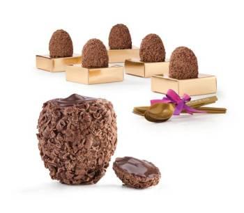Chocolat du Jour - Ovo Brigadeiro Pratigi Ao Leite ou Meio Amargo 360g