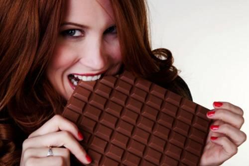 chocolate mulher