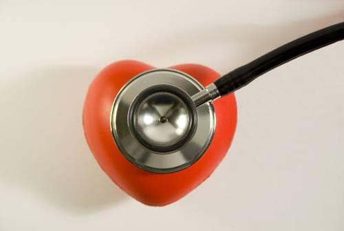 coração estetoscopio