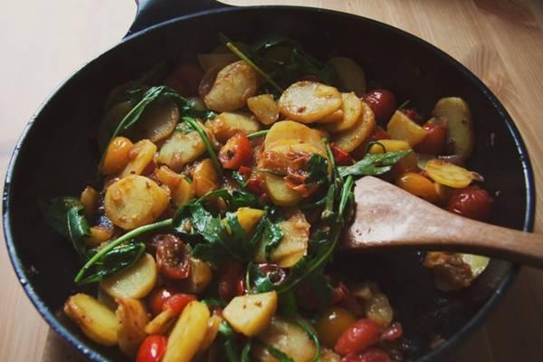 prato vegan mediterraneo