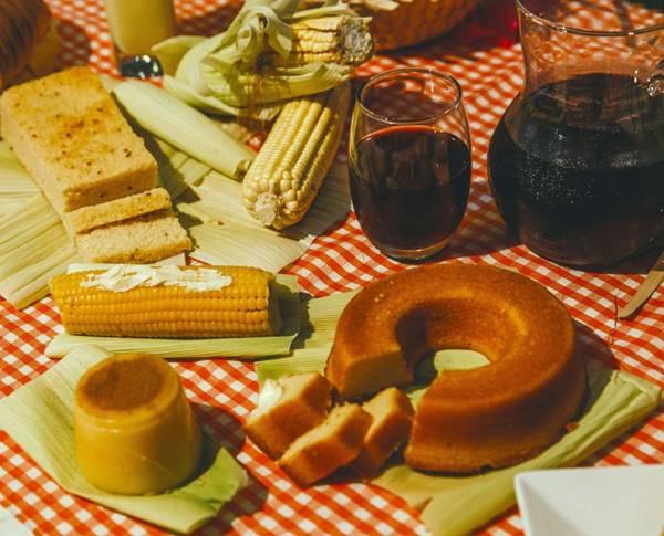 Diversos produtos de milho - Divulgação