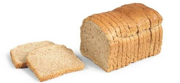 pão integral forma