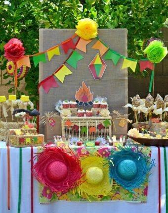 Decoração de festa infantil junina vilamulher.terra Foto Catch My Party