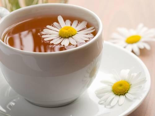 chá camomila