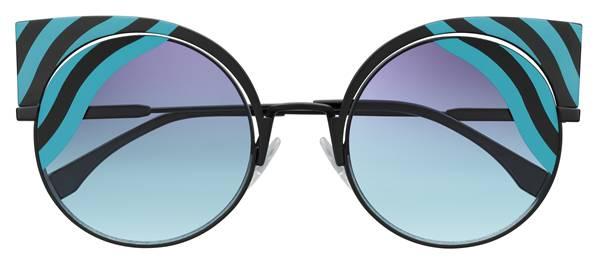 70e02a24c5c2d Os óculos de sol HypnoShine da Fendi estão disponíveis no mundo todo nas  boutiques Fendi e em óticas selecionadas.