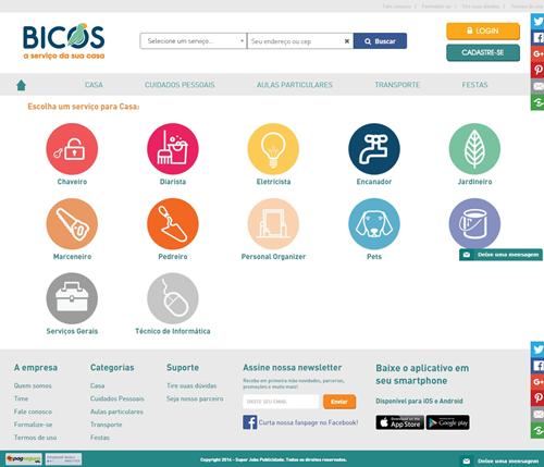 Bicos site