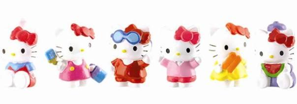 Brindes Hello Kitty Casinha