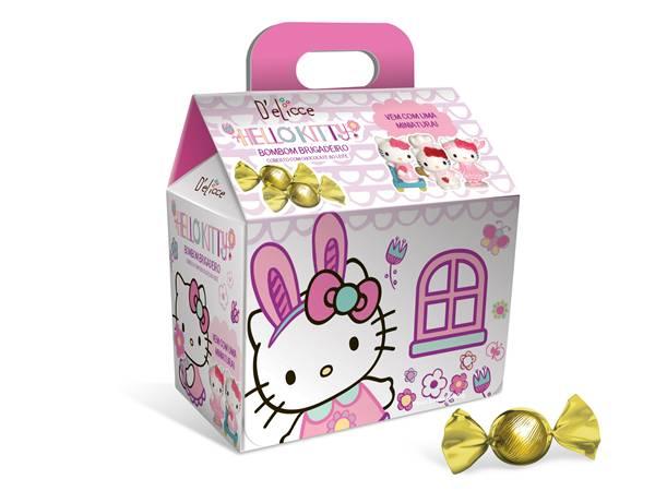 Casinha Hello Kitty (92g) Top Cau - produto excluviso Lojas Americanas