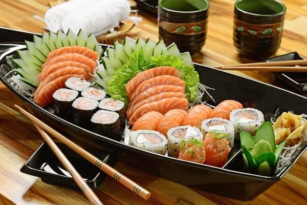 comida japonesa alimentação