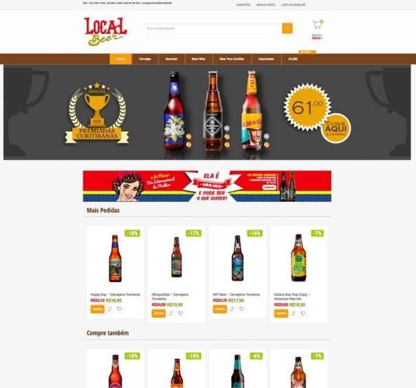 0957cc9b328 Para conhecer todos os detalhes sobre o Local Beer e conferir as promoções  é só acessar o site. As entregas são realizadas em todas as regiões do  Brasil.