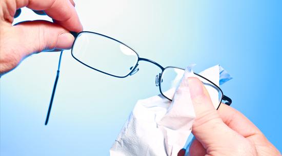 oculos limpeza