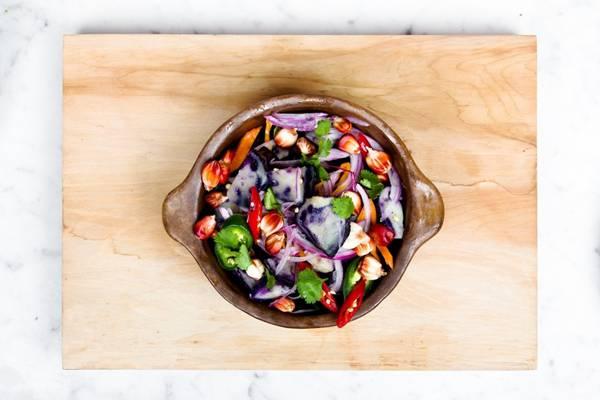 salada legumes