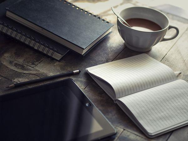 agenda café caderno