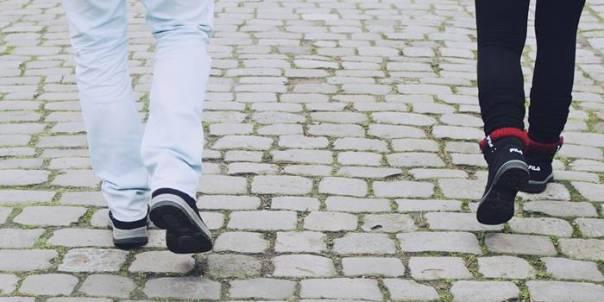 andar caminhar
