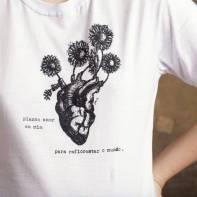 Camiseta Plantando Amor - 78 00 LOja Coisas do Zack para Dayshopping