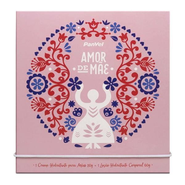 Kit Panvel Amor de Mãe - Creme para Mãos e Loção Hidratante Corporal R$1995