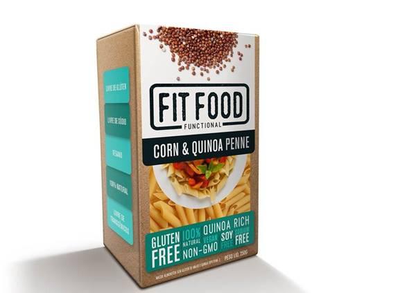 latinex_FIT FOOD_ FF10_ Massa Milho com Quinoa Sem Gluten_Penne_250g