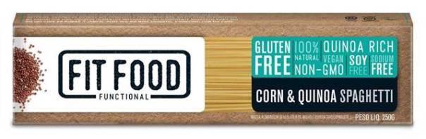 latinex_FIT FOOD_ FF11_ Massa Milho com Quinoa Sem Gluten_Spaghetti_250g