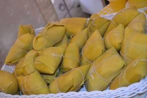 No Festival tem pamonhas doces e salgadas - Cris Gracio