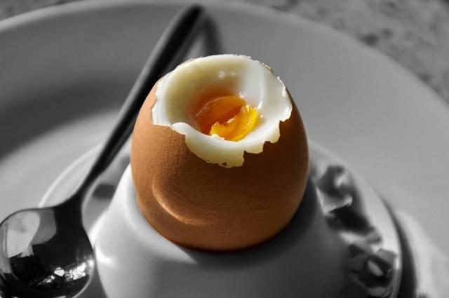 ovo café da manhã cozido