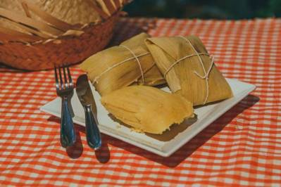 Pamonha tradicional iguaria feita com milho - Rafael Guirro