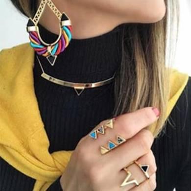 Acessório Chique Semi -jóias