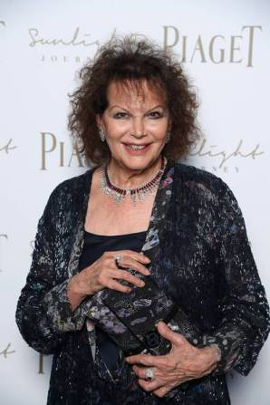 ROME, ITALY - JUNE 13: Claudia Cardinale attends Piaget Sunlight Journey Collection Launch on June 13, 2017 in Rome, Italy. (Photo by Venturelli/Getty Images)
