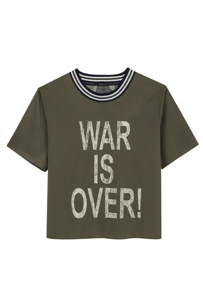 Blusa War is Over verde militar R$349 por R$179