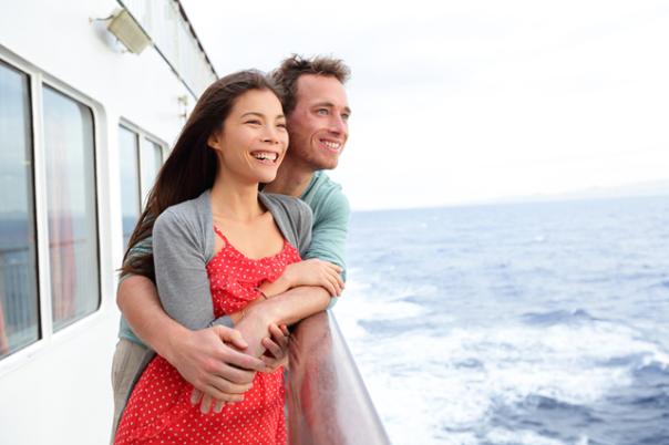 casal no barco shut