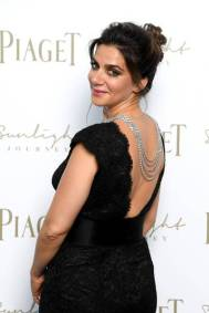 attends Piaget Sunlight Journey Collection Launch on June 13, 2017 in Rome, Italy.