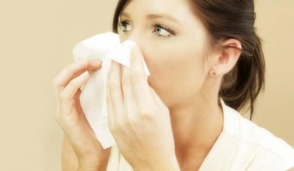 gripe assoar o nariz