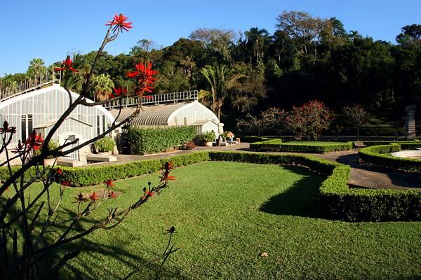 JARDIM BOTÂNICO – SÃO PAULO (SP) – 14.08.2009 – GERAL – JARDIM BOTÂNICO – LOCALIZADO NA ZONA SUL, TEM DIVERSAS ESPÉCIES DE PLANTAS E PAISAGENS, LAGOS, ESTUFAS E O MUSEU BOTÂNICO. – FOTO: CAIO PIMENTA/SPTURIS.