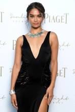 ROME, ITALY - JUNE 13: Shanina Shaik attends Piaget Sunlight Journey Collection Launch on June 13, 2017 in Rome, Italy. (Photo by Venturelli/Getty Images)
