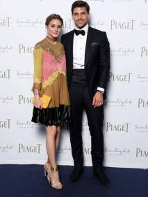 ROME, ITALY - JUNE 13: Olivia Palermo and Johannes Huebl attend Piaget Sunlight Journey Collection Launch on June 13, 2017 in Rome, Italy. (Photo by Venturelli/Getty Images)