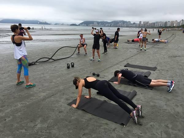 exercícios inverno praia