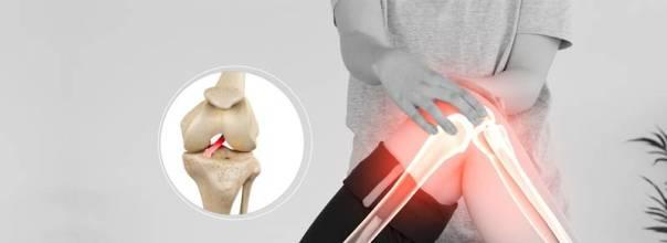 joelho lesão