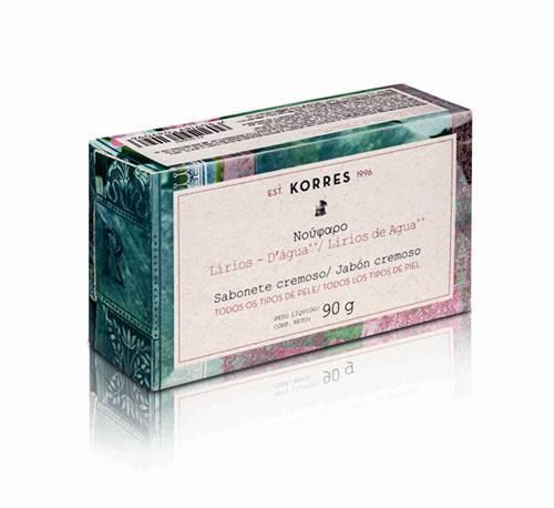 Korres - Sabonete cremoso - Lírios D'Água R$ 900